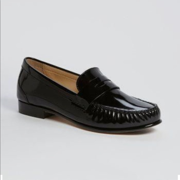 Cole Haan Shoes - Cole Haan Patent Leather Penny Loafers Women's 8.5